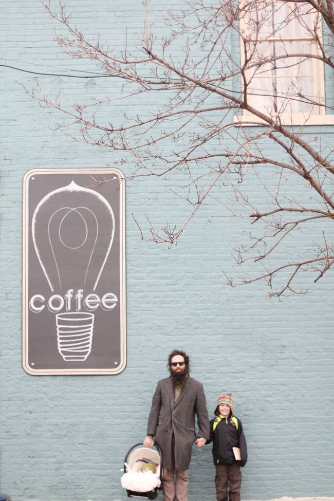Love this coffee shop sign. BRILLIANT