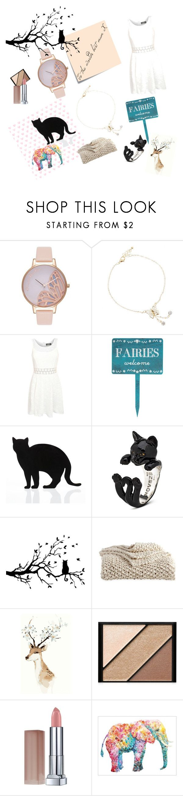 """""""to the worlds best mum💑"""" by debbie-riley ❤ liked on Polyvore featuring Post-It, Olivia Burton, Pilot, 157+173 designers, DKNY, Elizabeth Arden and Maybelline"""