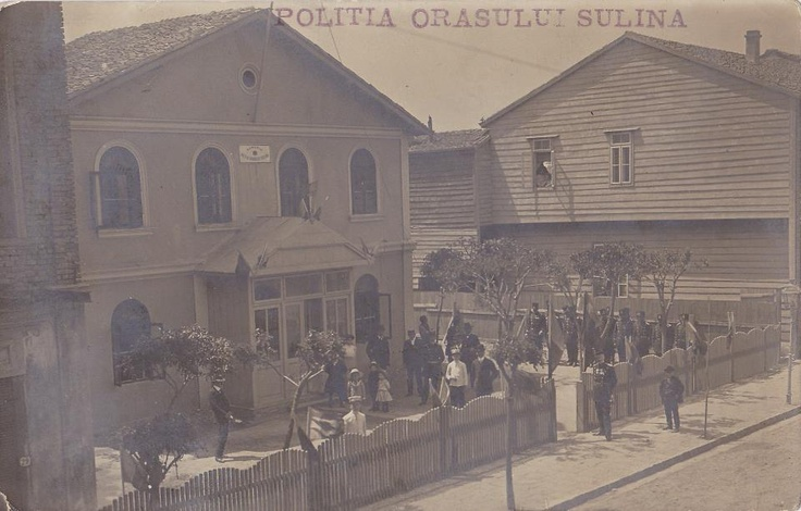 Sulina - Politia Orasului - aprox. 1915