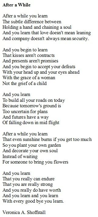 25+ best ideas about Poem of life on Pinterest | Poems of love ...