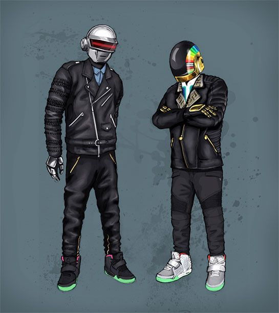 Daft Punk Fan Art