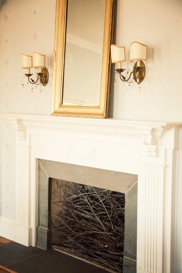 Empty Fireplace Ideas 47 best unused fireplaces images on pinterest | unused fireplace