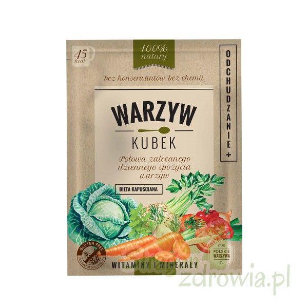 Warzyw Kubek Odchudzanie 16g - Zdrowa żywność - sklep StraganZdrowia.pl
