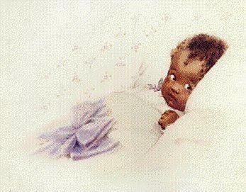 illustration by American artist - Bessie Pease Gutmann (1876-1960)