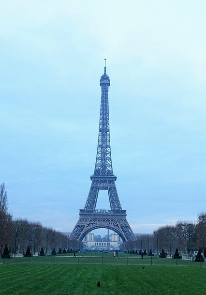The Eiffel Tower, Paris, France, a spectacular landmark!