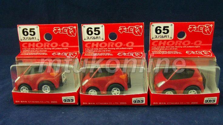 CHORO-Q STANDARD 2005 | SUBARU R1 2005 | NO.65 | SELL AS LOT