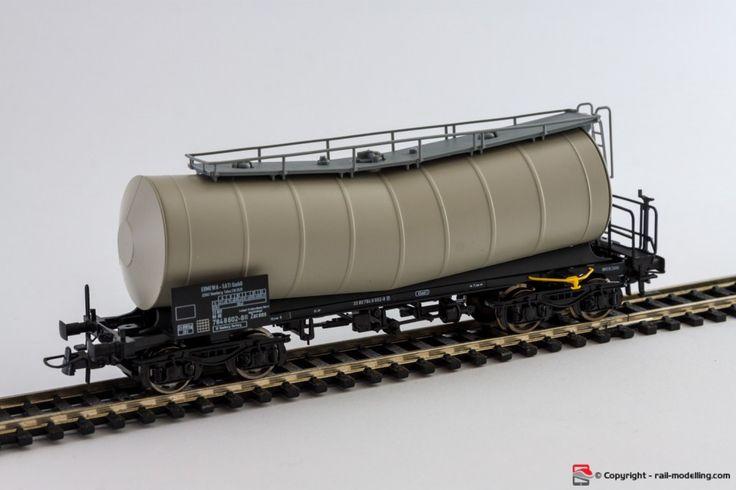 ROCO 67223 - H0 1:87 - Carro merci cisterna DB modello Ermewa SNCF con confezione