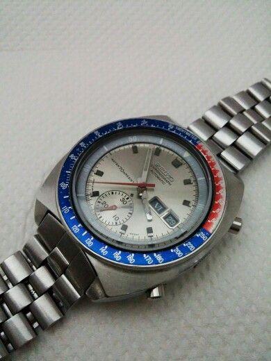 My 6139-6002 70mResist Silver dial Circa 1971