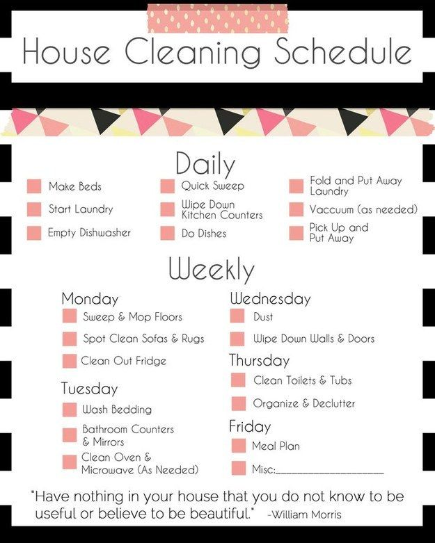 Cleaning a little bit each day (but not the Pinterest-prescribed amount) actually improved my life.