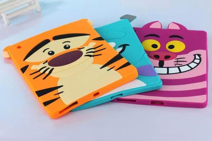 cute 3d disney tiger animal silicone skin cover case for #ipad mini(123 )gift from $7.99