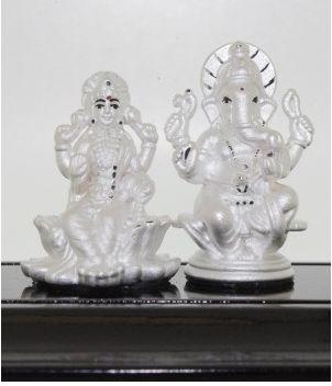 Lakshmi & Ganesha silver collections