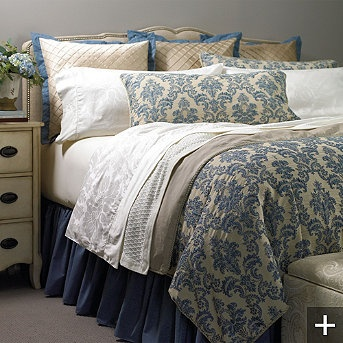 Florence bedding collection named after one of the most for Most beautiful bed in the world