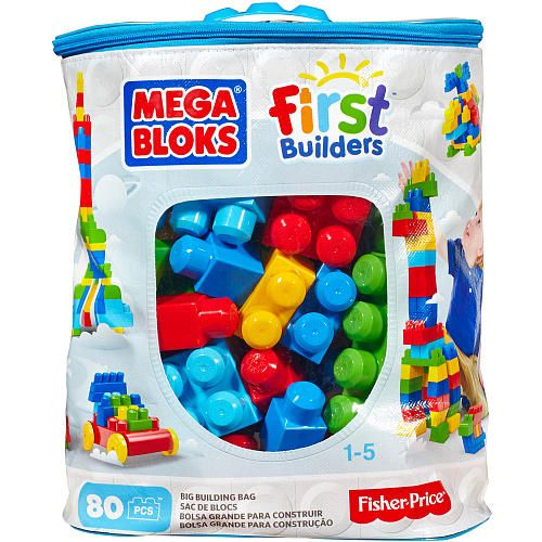 "Mega Bloks First Builders Big Building Bag Classic - MEGA Brands - Toys ""R"" Us"