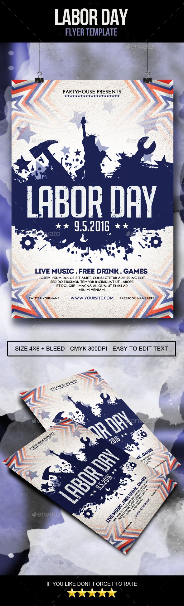 1612 best Abstract Flyer Templates images on Pinterest | Event ...