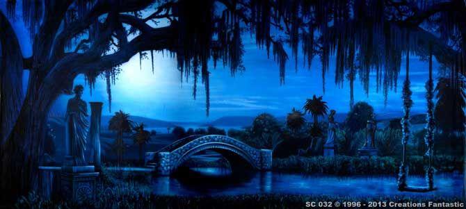 Backdrop SC 032 Southern Moonlight 2 Backdrop Size:18ft x 40ft