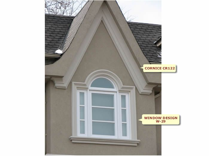 Front Elevation Molding : Best images about stucco trim arches stone on