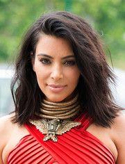 Kim Kardashian Medium Layered Cut