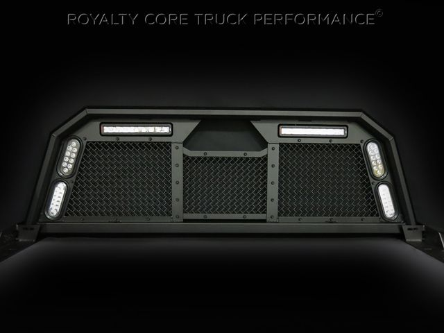 Custom Truck Grille Gallery Photos-Royalty Core HEADACHE RACKS RC88
