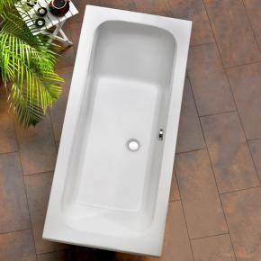 Ottofond Malta Rechteck Badewanne ohne Wannenträger