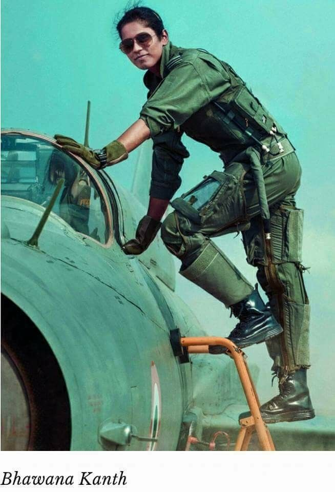 Indian Air Force Quotes In Hindi: One Of The Indian Air Forces First Female Fighter Pilots