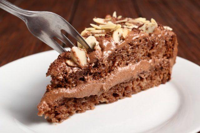 Торт сшоколадным кремом
