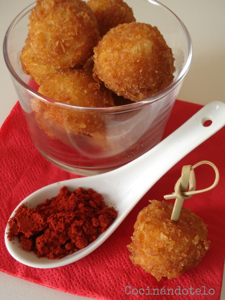HUEVOS CRUJIENTES DE CODORNIZ Un aperitivo super original y muy fácil de preparar!