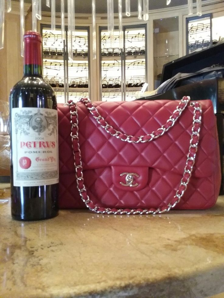 Red wine or red chanel  Your choise?