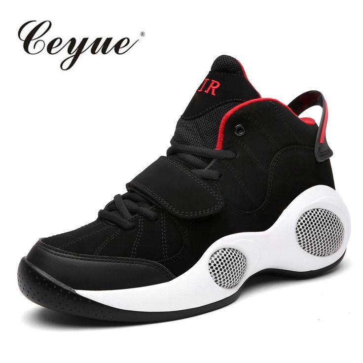 Basketball Shoes Men Air Max Sneakers High Tops Mens 2016 Plus Size 39-48 Ankle Boots Athletics Basket Shoes Zapatillas Hombre  #Affiliate