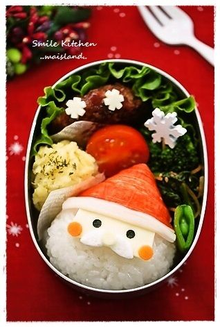 【クリスマス♪サンタさんおにぎり】の画像 | Mai's スマイル キッチン