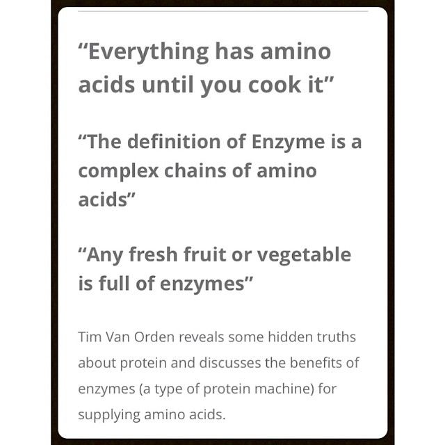Tim Van Orden discuses his view on the PROTEIN MYTH! Video up at www.cleanlivinlife.com Be sure to check out our Facebook page (cleanlivinlife) and twitter @Sheri Leonard Livin' to keep up with all the exciting things coming your way! #vegan #whatveganseat #whatvegansdo #eatclean #plantbased #energy #nutrition #cleanlivin #cleanlivinlife #foodporn #veganfoodporn #glutenfree #rawvegan #rawveganfoodshare #enzymes #veganlife #veganism #vegansofinstagram #veganlove #vegans #veganlifestyle