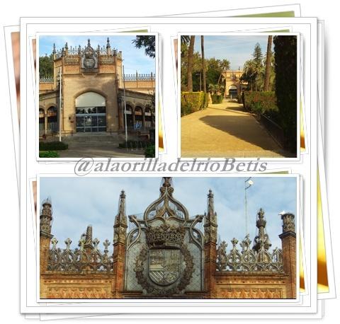 alaorilladelrioBetis: Plaza de America  Pabellon Real