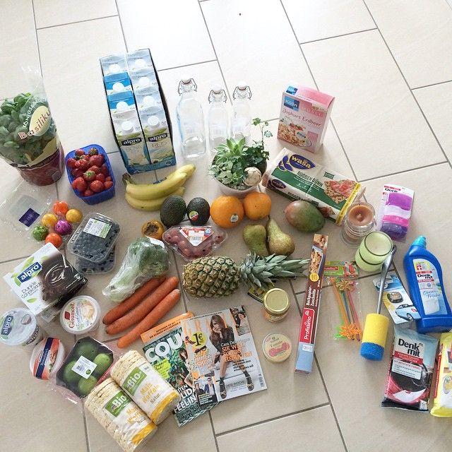 I would say my trip to the supermarket was succesful :) #stayclean #staystrong #whatsinmyfridge #whatsinmyeinfkaufswagen #alprodrink @alpro #fruits #health #healthylife #healthydrink #healthysnack #healthyeating #healthywayoflife #healthy #pumpingfairy #eatie #eatsmart #essen #eatspiration #eathealthy #enjoylife #supermarket #rewe @rewe #saturdaymorning #weeklyroutine