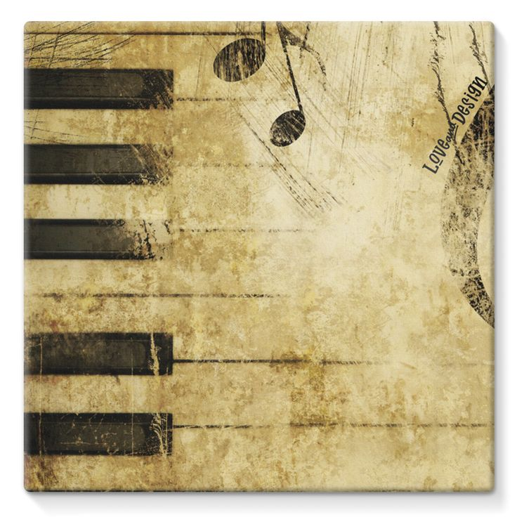 New at love and design today: Love and Design M... - click through http://loveanddesign.com/products/love-and-design-music-and-piano-brand-stretched-eco-canvas?utm_campaign=social_autopilot&utm_source=pin&utm_medium=pin