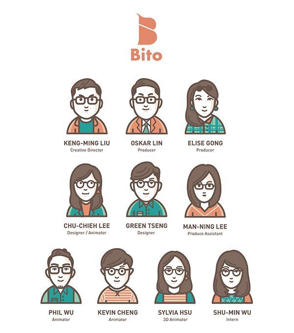 甲蟲創意團隊 | Bito Team on Behance