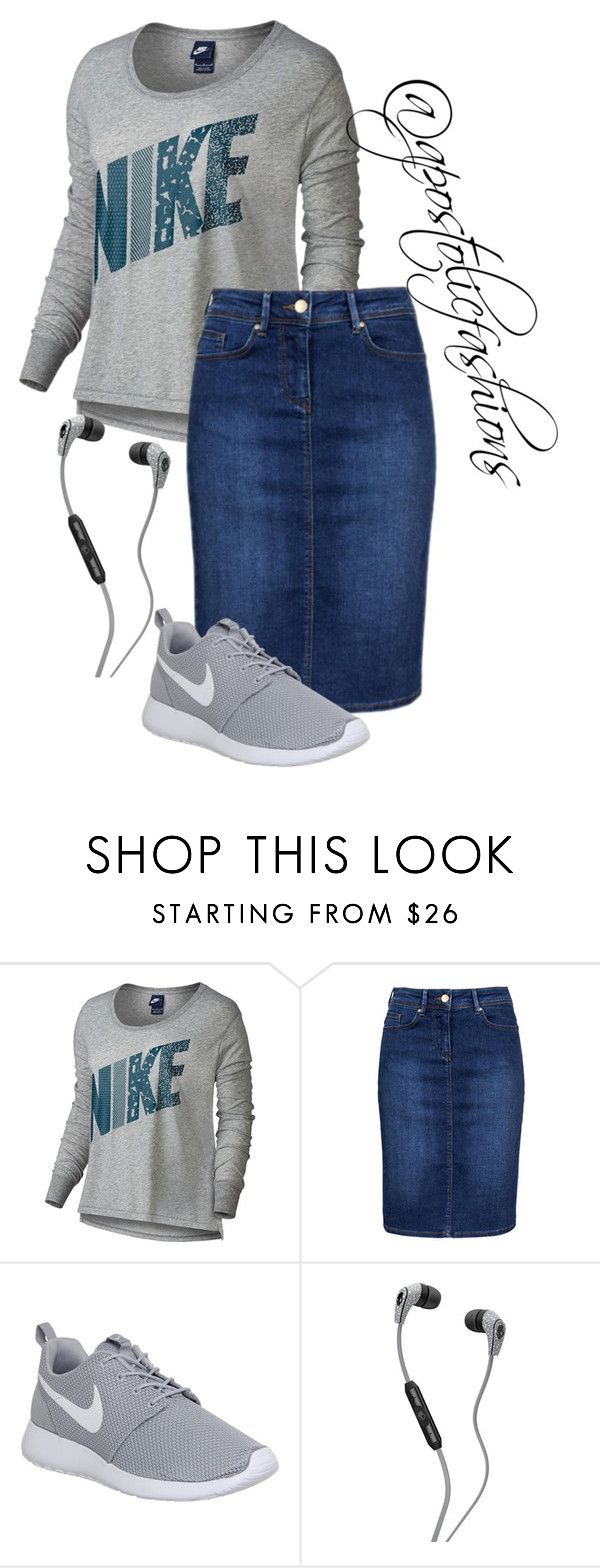 """Apostolic Fashions #1315"" by apostolicfashions on Polyvore featuring NIKE, Skullcandy, modestlykay and modestlywhit"