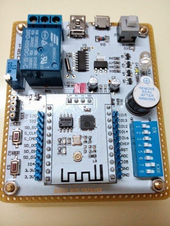 Iot with esp wireless wifi module develop