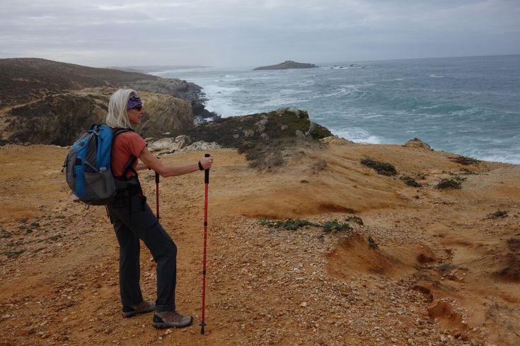 Hiking the Fishermen's Trail…
