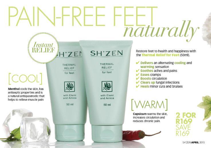 Pain-free Feet naturally