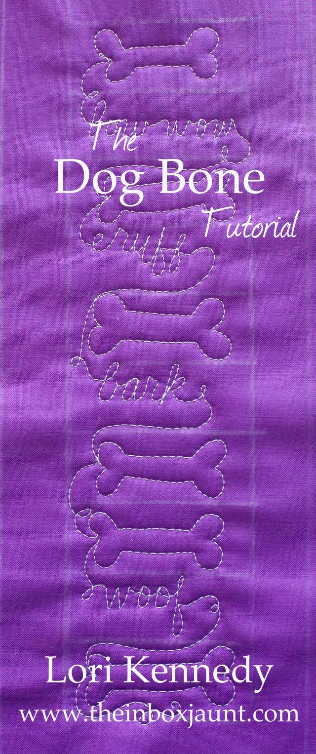Dog Bone, Quilt Tutorial, Lori Kennedy