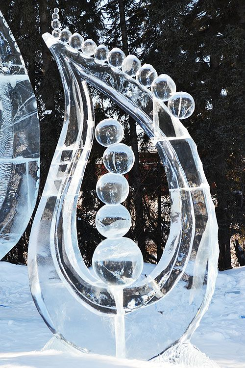 awesome ice sculptures at an Ice park in Alaska. Posted from http://ana-white.com/notmuch  one of my favorite bloggers
