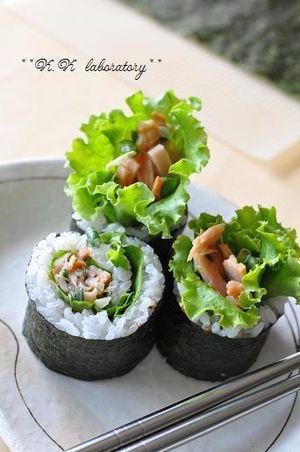 お弁当やおつまみに!韓国風のり巻き「キンパ」を作ってみよう - NAVER まとめ