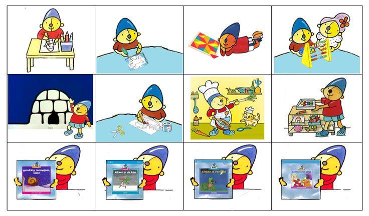 Planbordkaarten Pompom | Toegevoegd: werkje aan tafel, prikken, mozaïek, werkje met de juf, winterhoek, knippen en plakken / knutselen, restauranthoek, werkje uit de kast, Schatkist ankers winter