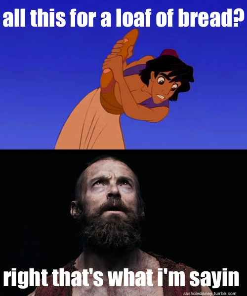 This sassy Jean Valjean. | 26 Jokes Only Theatre Nerds Will Understand