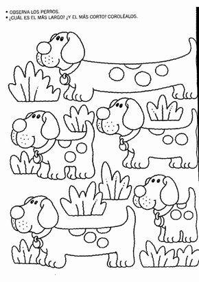 Actividades para niños preescolar, primaria e inicial. Fichas para niños para imprimir con dibujos para relacionar y pintar. Relacionar y Pintar. 42