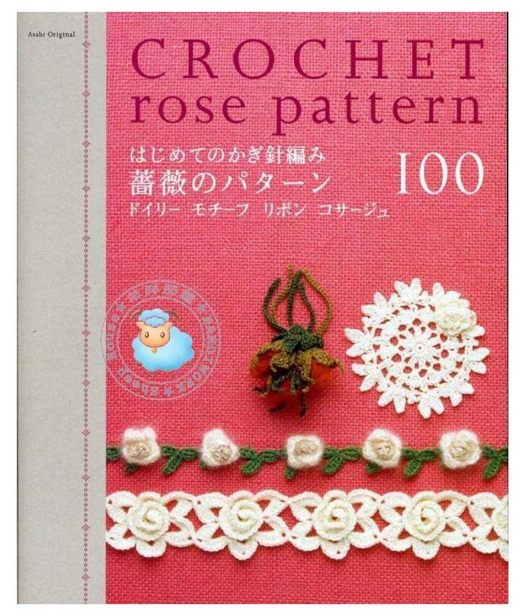 ISSUU - AO - Crochet Rose Pattern by Mariangela Sorbilli