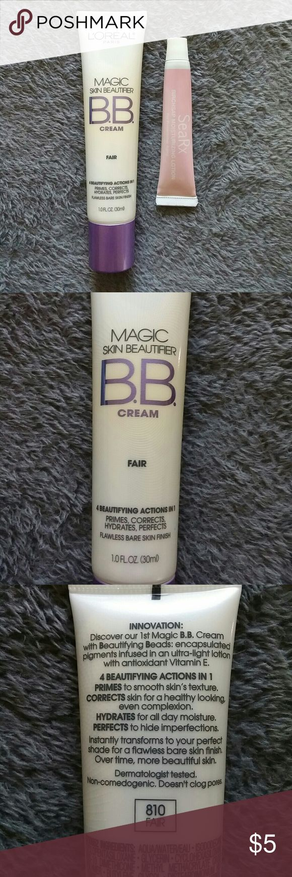 💲Final Price💲 Loreal Magic BB Cream - 2 Items * Final price unless added to a bundle!   * Both used a few times but feel half or close to half full.   * No Holds   * No Trades Makeup