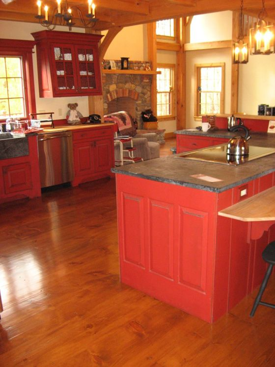 Best 25 Red Kitchen Island Ideas On Pinterest Red Kitchen Cabinets Butcher Block Dining Table And Red Cabinets