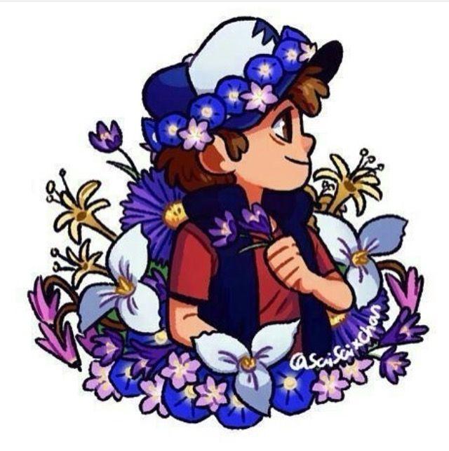 Dip always looks Good in flower crowns ✨