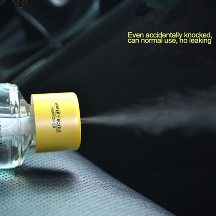 Портативный моды автомобиля домашнего офиса USB увлажнитель ароматерапия бутылка
