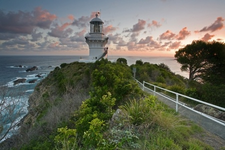 Sugarloaf Point Lighthouse, Seal Rocks, Myall Lakes National Park, New South Wales, Australia